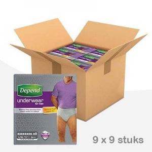 Depend-pants-man-maximum-lxl-voordeelbox
