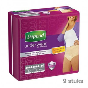 Depend-pamts-maximum-l-vrouw