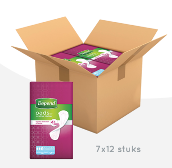 Maandbox depend verband normal plus