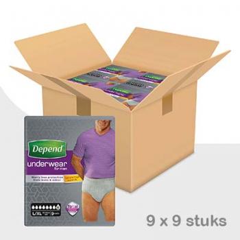 Depend-pants-man-super-lxl-voordeelbox